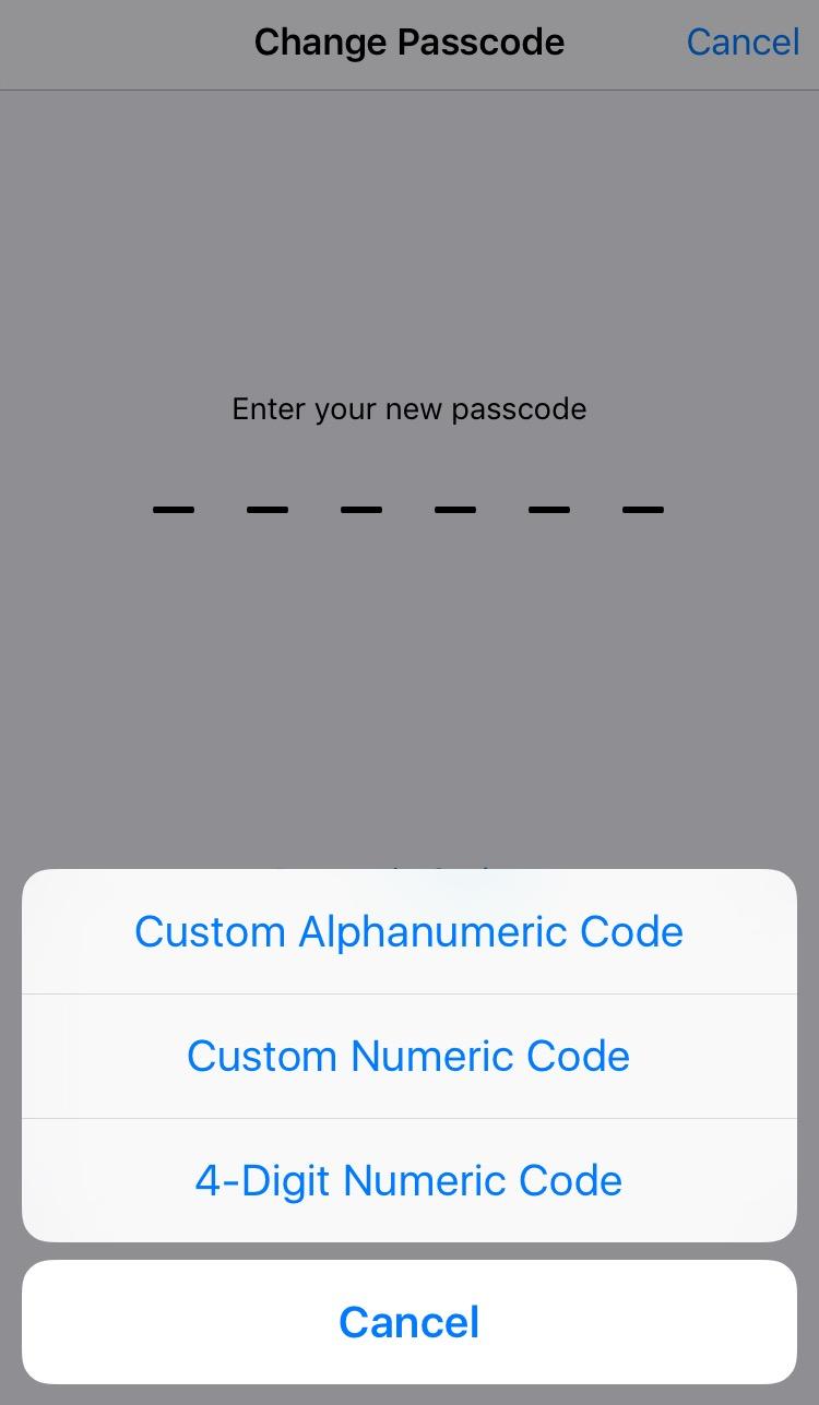 set passcode on iPhone.jpg