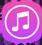 iPhone music icon